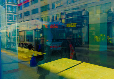 Photograph - City Street by William Jobes
