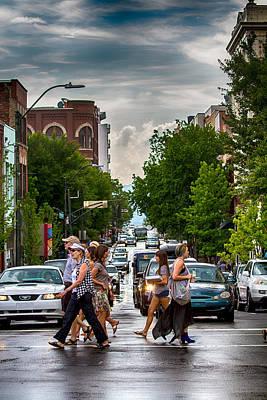 Digital Art - City Streets by John Haldane