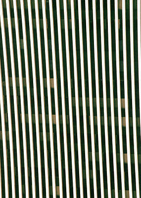 City Stripes Art Print