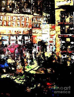Painting - City Stroll by Denise Tomasura