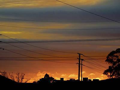 Photograph - City Sunrise by Mark Blauhoefer
