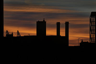 Rooftop Sunrise Original by Mike Deutsch