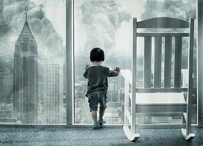 Kid Photograph - City Under Guard by Dimas Awang