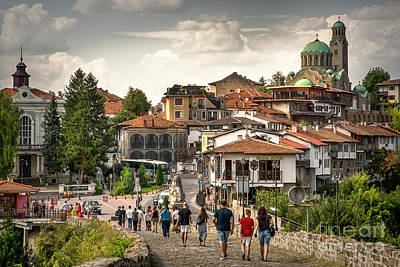 Photograph - City - Veliko Tarnovo Bulgaria Europe by Daliana Pacuraru