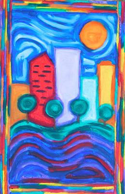 City Views Original by Elizabeth Dawson