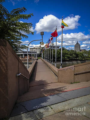 Photograph - City Walkway Rochester by Joann Long