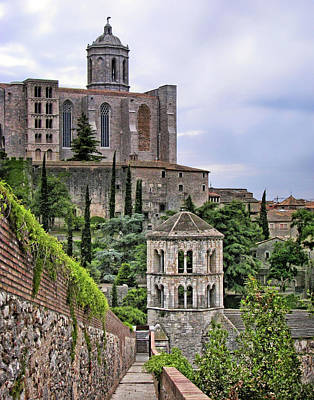 Photograph - City Walls - Girona by Nikolyn McDonald