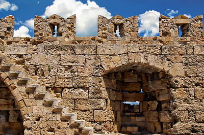 Photograph - City Walls Of Rhodes by Anthony Dezenzio