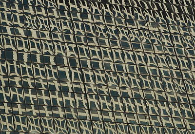 Photograph - City Windows Abstract by Richard Bryce and Family