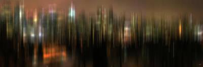 Mixed Media - Cityscape - Abstract 001 by Stuart Turnbull