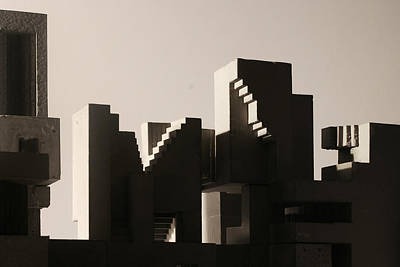 Photograph - Cityscape 1 by David Umemoto
