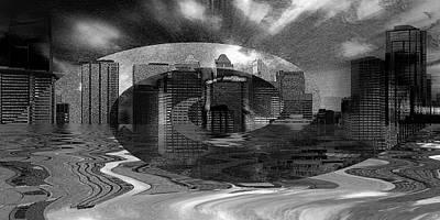 Cityscape 1 Art Print by Stuart Turnbull