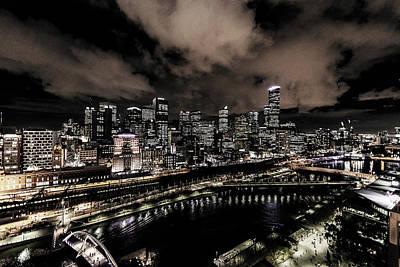 Photograph - Cityscape by Artistic Panda