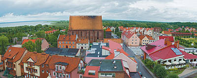 Photograph - Cityscape Frombork Poland by Marek Poplawski
