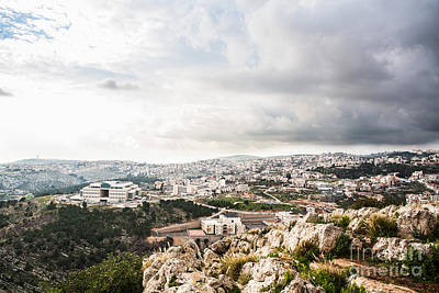 Photograph - Cityscape In Israel by Kaitlyn Suter