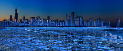 Chicago Photograph - Cityscape by Justin W. Kern