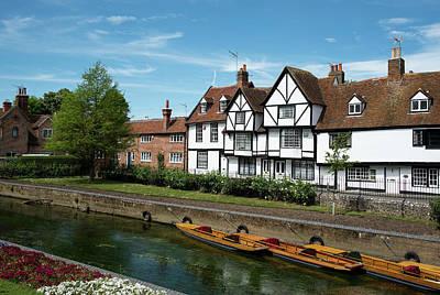 Cityscape Of Canterbury, Kent Uk Original