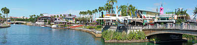 Photograph - Citywalk Panorama by Paulette B Wright