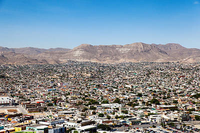Photograph - Ciudad Juarez by SR Green