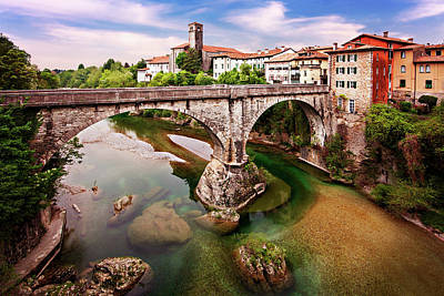Photograph - Cividale Del Friuli - Italy by Barry O Carroll