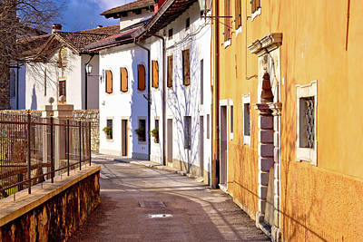 Photograph - Cividale Del Friuli Street On Natisone River View by Brch Photography