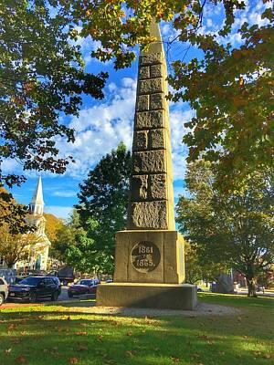 Civil Monument Concord Massachusetts  Art Print