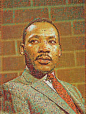 Painting - Civil Rights Leader by Gary Grayson