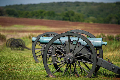Photograph - Civil War Artillery by James Barber