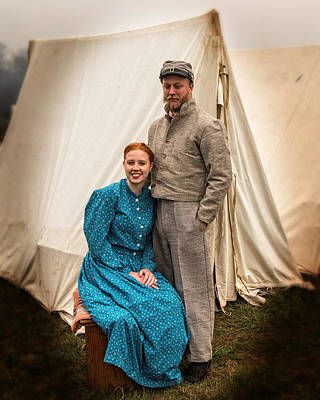 Photograph - Civil War Bride by Alan Raasch