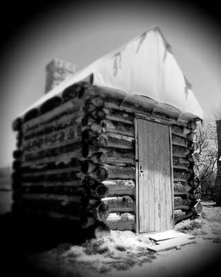 Celebrity Pop Art Potraits - Civil War Cabin 2 by Jean Macaluso