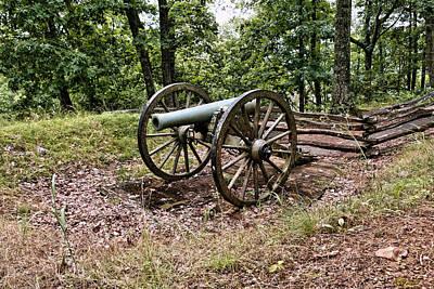 Civil War Cannon 1 Art Print