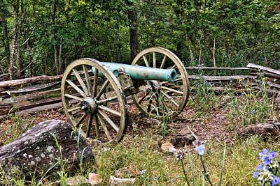 Civil War Cannon 2 Art Print