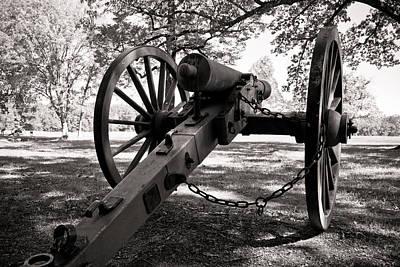 Civil War Cannon Art Print by Edward Myers