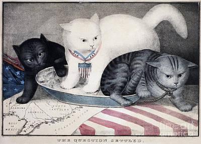 Photograph - Civil War: Cartoon, C1865 by Granger