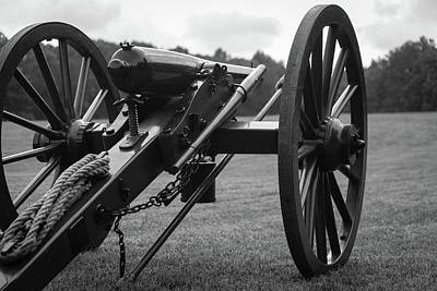 Photograph - Civil War Era Cannon by Doug Camara