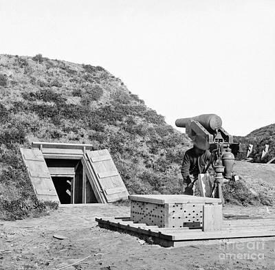 Photograph - Civil War, Fort Darling - To License For Professional Use Visit Granger.com by Granger