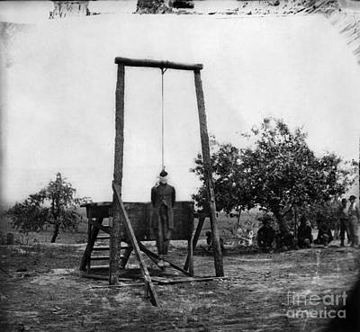 Photograph - Civil War: Hanging, 1864 by Granger