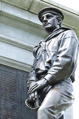 Photograph - Civil War Memorial - Fitchburg, Ma by Staci Bigelow