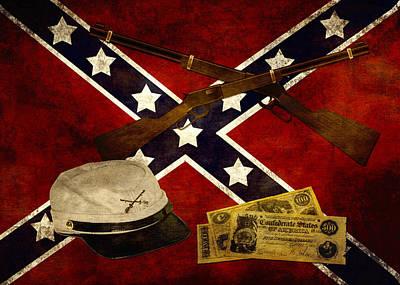 Photograph - Civil War Memories by TnBackroadsPhotos