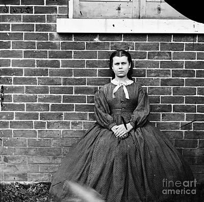 Photograph - Civil War, Portrait, 1864.  by Granger