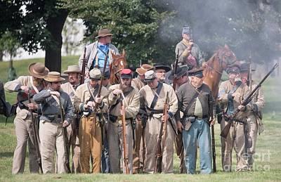 Photograph - Civil War Re-enactors - 5 by David Bearden
