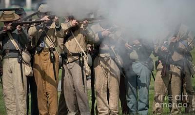 Photograph - Civil War Re-enactors - 6 by David Bearden