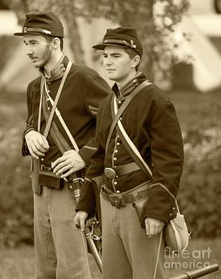 Photograph - Civil War Re-enactors - 8 by David Bearden