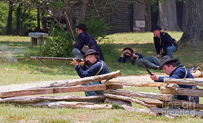 Photograph - Civil War Reenactment 1 by Kevin McCarthy