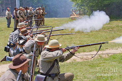 Photograph - Civil War Reenactment 2 by Kevin McCarthy