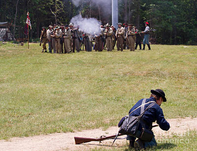 Photograph - Civil War Reenactment 4 by Kevin McCarthy