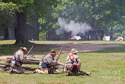Photograph - Civil War Reenactment 5 by Kevin McCarthy