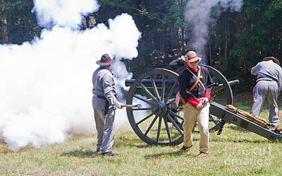 Photograph - Civil War Reenactment 3 by Kevin McCarthy