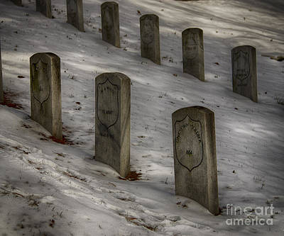 Photograph - Civil War Stones by JRP Photography