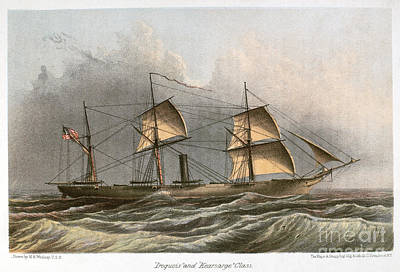 Civil War: Uss Kearsarge Art Print by Granger